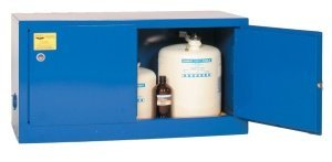 Eagle ADD-CRA Acid/Corrosive Safety Cabinet, Manual Closing, 2 Door, 43