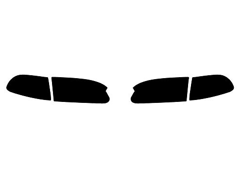 (Rvinyl Rtint Headlight Tint Covers for Honda Civic 1992-1995 - Smoke)
