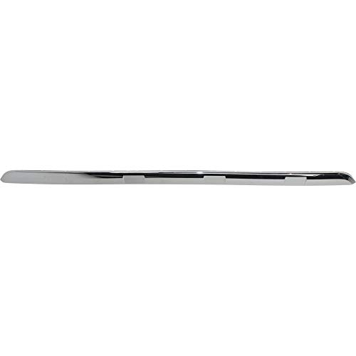 (Rear Bumper Molding compatible with Nissan Pathfinder 13-16 Chrome CAPA)