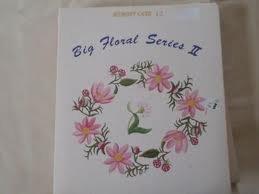 - janome memory card 12 Big Floral series II