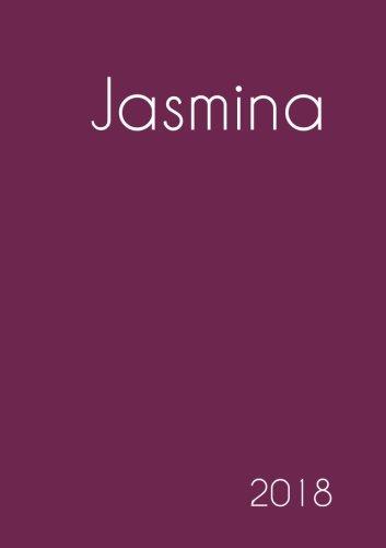 Download 2018: Namenskalender 2018 - Jasmina - DIN A5 - eine Woche pro Doppelseite (German Edition) ebook