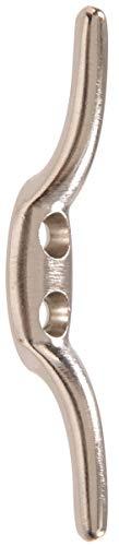 - Hillman Hardware Essentials 852715 Rope Cleat Satin Nickel 2-1/2