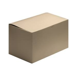 1 Piece Kraft Gift Boxes 14 x 6 x 6 Case of 50 by Retail Resource