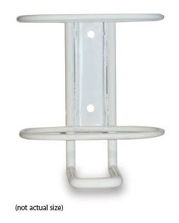 #2510101 Safetec Wall Mount Bracket for 16oz ABHC Hand Sanitizer Pump Bottle - Mounting Hardware Included