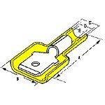 19004-0009, Quick Disconnect Terminal 10-12AWG M 28.4mm 11.7mm Zinc Chromate InsulKrimp Bag (150 Items)