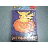 2000 Designware American Greetings Corp. Nintendo Pokemon 8 Invitations Halloween Party Pack Pikachu in a Jack-o-Latern Pokemon Card (8 Invitations Cards & 8 Inviatation Envelopes)