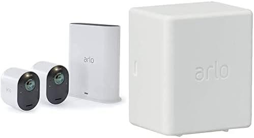 2 Caméras Ultra 4K Hdr Avec Station D'Acceuil et Batterie Rechargeable