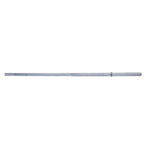 Body-Solid Tools Standard Weight Bar, 7 Feet, Chrome