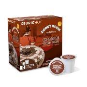Buy donut house chocolate glazed donut 18 ct