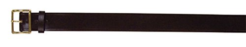 [Rothco 1 3/4''Bonded Leather Garrison Belt, Brass, 34] (Garrison Belts Military Clothing Accessories)