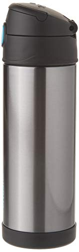 (Thermos Funtainer 16 Ounce Bottle, Charcoal)