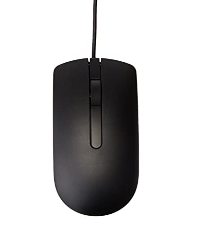 Sis MS116 Wired Optical Mouse, Black – Pack of 1