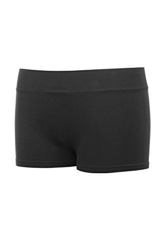 Kurve Girl's & Junior One Size Seamless Boyshorts UV Protective Fabric UPF 50+ (Made With Love In The USA)