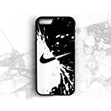 Universal Colletions Nike iPhone case in Black and White Color (iPhone 6/6s)