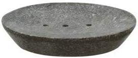 Piedra gris del plato de jab/ón accesorios portadosis para ducha ba/ñera