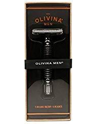 Olivina Men Deluxe Safety Razor Chrome Handle