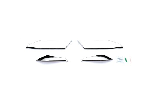 Putco 401263 Chrome Head Lamp Overlay and Ring (Headlamp Overlays)