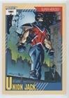 Union Jack (Trading Card) 1991 Impel Marvel Universe Series 2 - [Base] #24