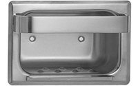 ASI 0401 Recessed Soap Dish without Bar