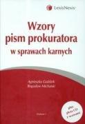 Wzory pism prokuratora w sprawach karnych z plyta CD Agnieszka Gozdzik