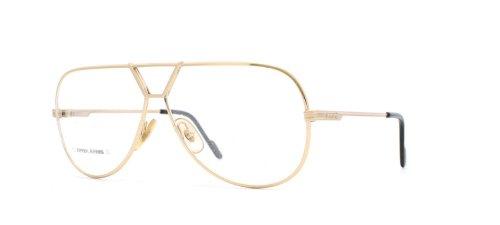 Ferrari 28 508 Gold Authentic Men Vintage Eyeglasses - Ferrari Glasses Frames