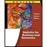 STATISTICS FOR BUS.+ECON.,REV., David Ray Anderson, 053848165X