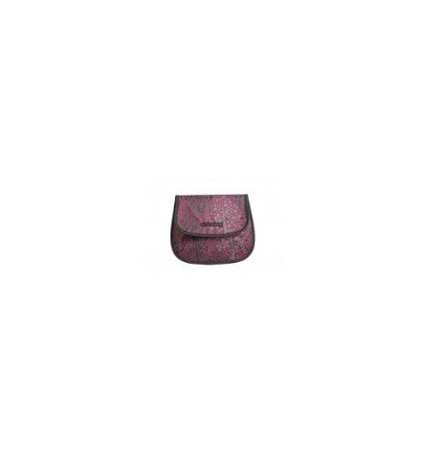 Okiedog Joey - Bolsa para pañales, color rojo morado