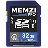 MEMZI PRO 32GB Class 10 80MB/s SDHC Memory Card for Canon PowerShot SX730 HS, SX720 HS, SX710 HS, SX700 HS, SX620 HS, SX610 HS, SX600 HS, SX540 HS, SX530 HS, SX520 HS, SX510 HS Digital Cameras