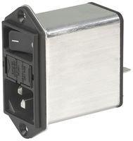 Schurter DD12.8111.111 Power Entry Module, Male, 8A