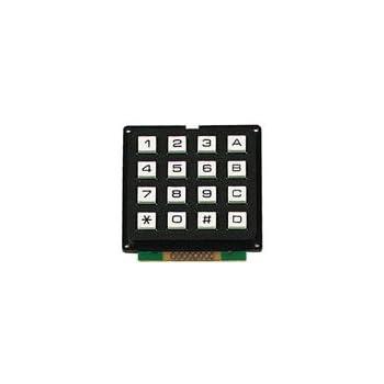 Amazon com : 4x4 Universial 16 Key Switch Keypad Keyboard For