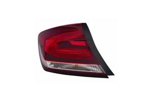 - Honda Civic Sedan 13 Tail Light Assembly Outer LH USA Driver Side