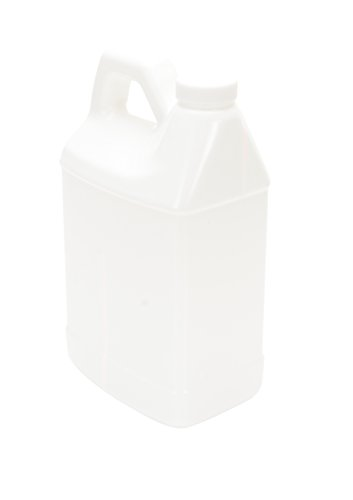 Vestil-JUG-W-64-High-Density-Polyethylene-HDPE-Rectangular-Jug-with-Natural-Cap-5-14-Length-x-3-34-Width-x-8-1316-Height-64-oz-Capacity-White