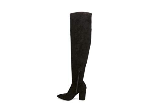 Steve Madden Womens Rational Tall Over-The-Knee Boots Black 10 Medium (B,M)