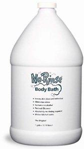 No Rinse Body Bath, 1 gallon (Case Quantity of 4) by No Rinse Laboratories