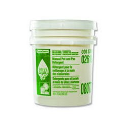 Dawn 8077 PGC02618 Manual Pot and Pan Dish Detergent, Lemon Scent, Liquid, 5 gal. Pail