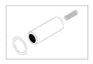 Water Solenoid Repair Kit for Pelton & Crane PCK754