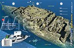 Price comparison product image Reef Site Card - Spiegel Grove Bow - Key Largo,  Florida