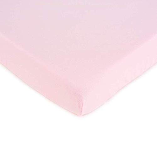 - SheetWorld Fitted 100% Cotton Jersey Play Yard Sheet Fits BabyBjorn Travel Crib Light 24 x 42, Baby Pink, Made in USA