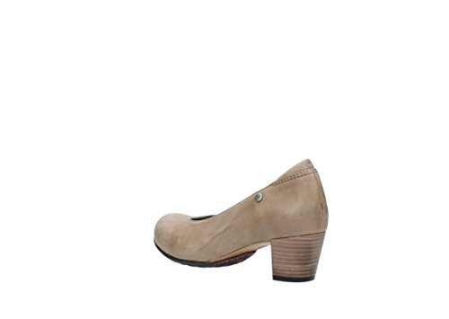 Shoes taupe Wolky leather Rumba Court 80150 Comfort qXXx1wE8A