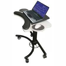 Balt Steel Workstation - BLT89829 - Balt Lapmatic Portable Computer Stand