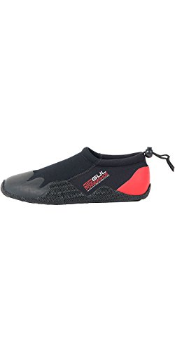 Gul Power - Escarpines de surf black / red