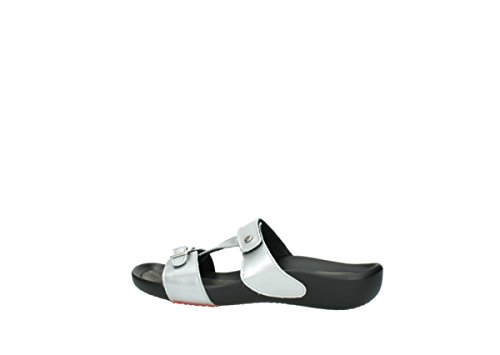 Patent Leather Wolky 80200 Metallic Grey Comfort Oconnor YwqOaq7I