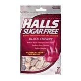 Vapor Black Cherry - Halls Black Cherry Flavor 25 Drops