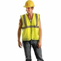 Occulux Economy Vest Yellow 3X, Sold As 1 Each ()