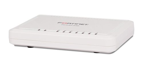 Fortinet | FAP-24D-A | Fortinet FortiAP-24D Remote Wireless AP - 1 x 10/100/1000 (WAN with PoE PD 802.3af), 4 x FE RJ45, Single Radio/Dual-Band (802.11 a/b/g/n, 2x2 MIMO)