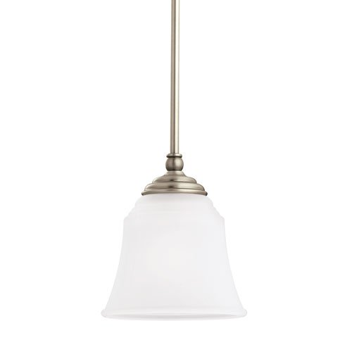 Sea Gull Lighting Parkview Antique Brushed Nickel Energy Star LED Mini Pendant (965 Parkview 3 Light)