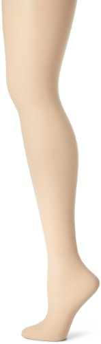 Hanes Women's Control Top Sheer Toe Silk Reflections Panty Hose, Travel Buff, A/A/B