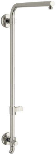 KOHLER K-45210-SN Hydrorail-R Beam Bath and Shower Column, Vibrant Polished Nickel (Bath Column)
