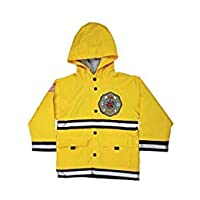 Western Chief Firefighter Fire Department Hero Raincoat for Boys