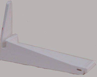 Genova Products Repla K White Gutter Bracket, AW106 25 Pack